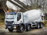 Iveco Trakker Hi-Land 410 8x4 UK-spec Mixer 2013 images