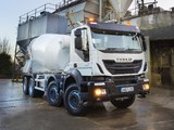 Iveco Trakker Hi-Land 410 8x4 UK-spec Mixer 2013 photos
