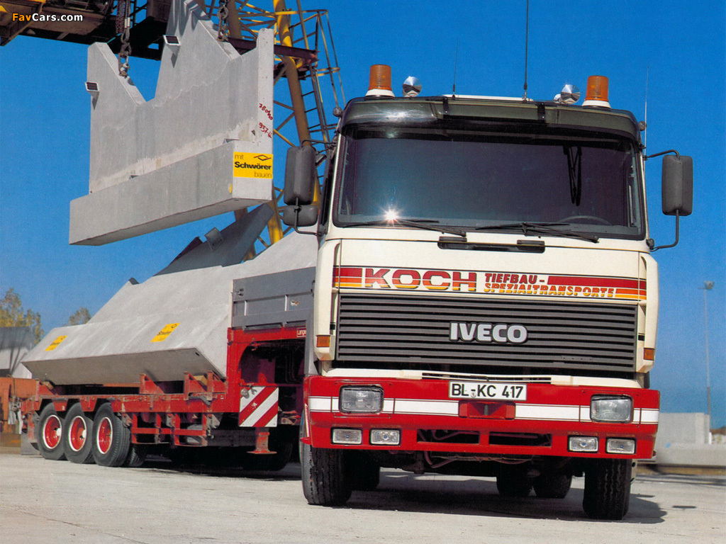 Iveco TurboStar 1984–91 wallpapers (1024 x 768)