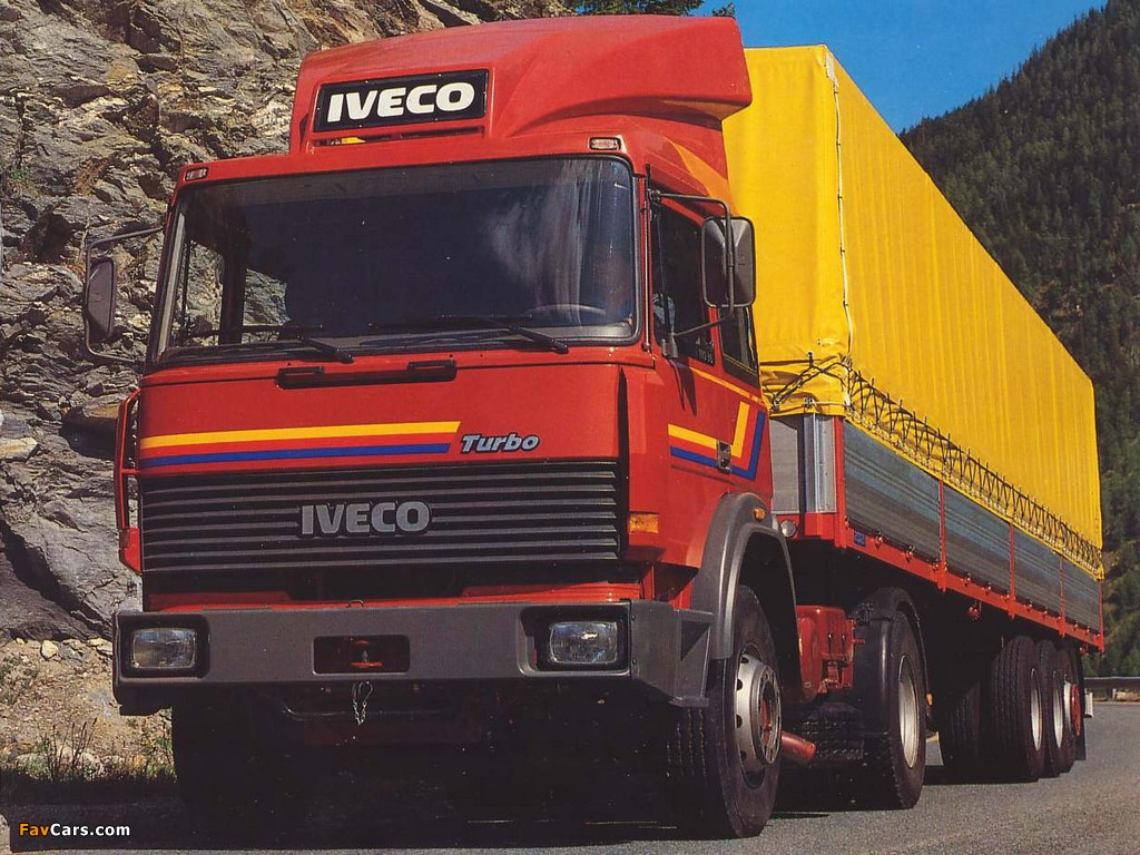 Photos of Iveco TurboStar 1984–91 (1024 x 768)