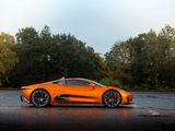 "Pictures of Jaguar C-X75 ""007 Spectre"" 2015"