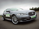 Images of Jaguar XJ Limo-Green Hybrid Prototype (X351) 2010