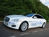 Images of Jaguar XJ_e Plug-In Hybrid Prototype (X351) 2012