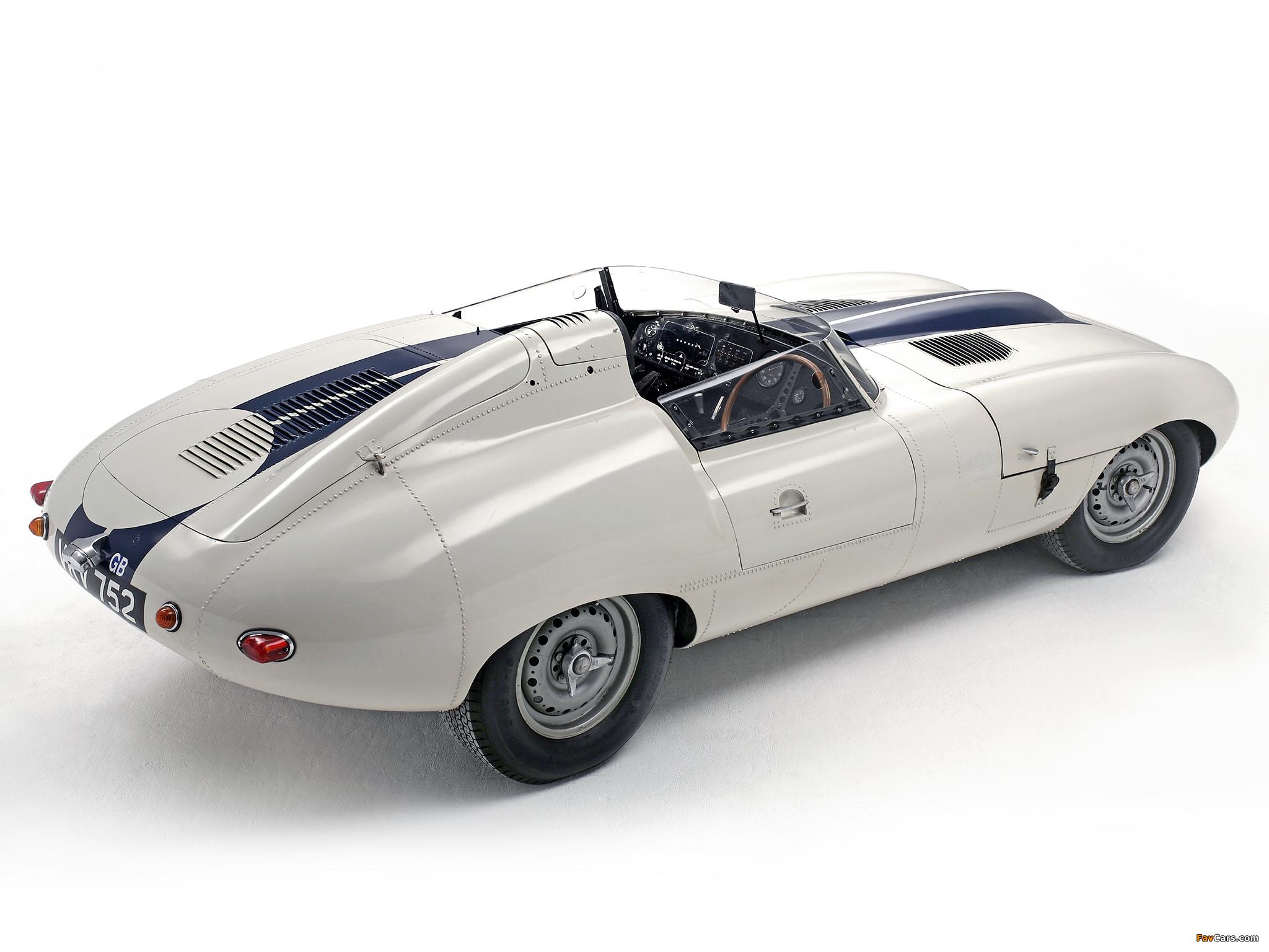 Jaguar E-Type Prototype E2A 1960 images (2048x1536)