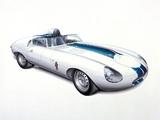 Jaguar E-Type Prototype E2A 1960 photos