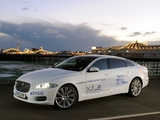 Jaguar XJ_e Plug-In Hybrid Prototype (X351) 2012 wallpapers
