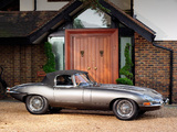 Jaguar E-Type Open Two Seater UK-spec (Series I) 1961–67 wallpapers