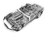 Jaguar E-Type Lightweight Roadster (Series I) 1964 wallpapers