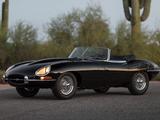 Jaguar E-Type 4.2-Litre Open Two Seater EU-spec (XK-E) 1964–1967 wallpapers