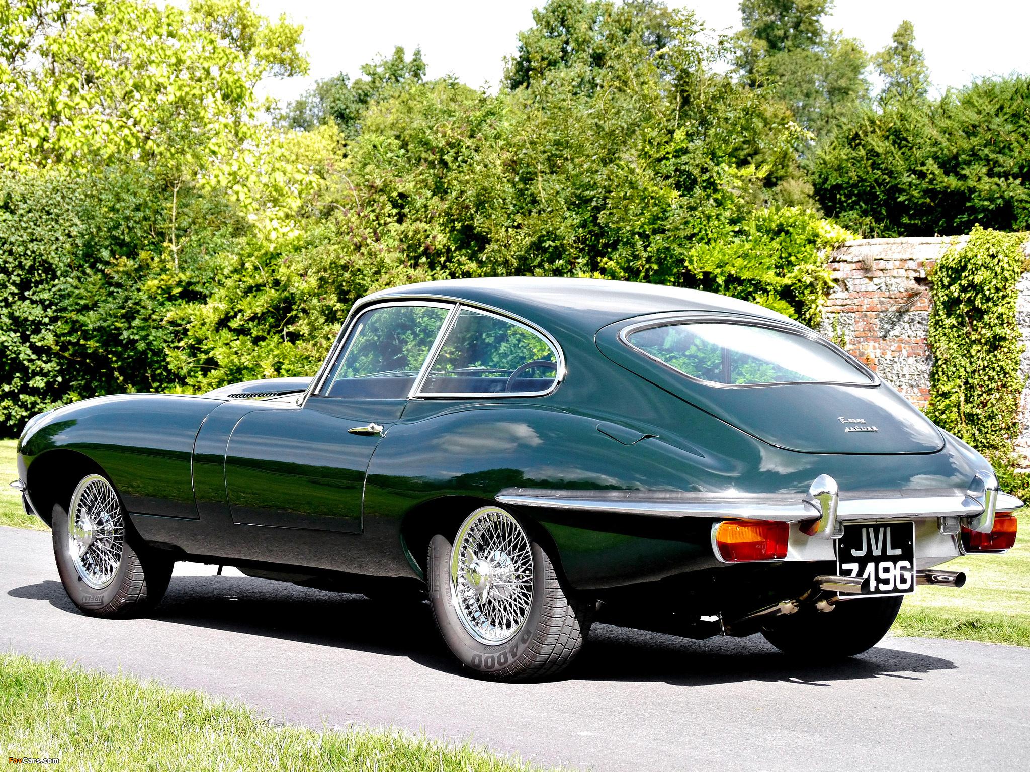 Photos of Jaguar E-Type Fixed Head Coupe (Series II) 1968 ...
