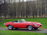 Pictures of Jaguar E-Type Open Two Seater UK-spec (Series I) 1961–67