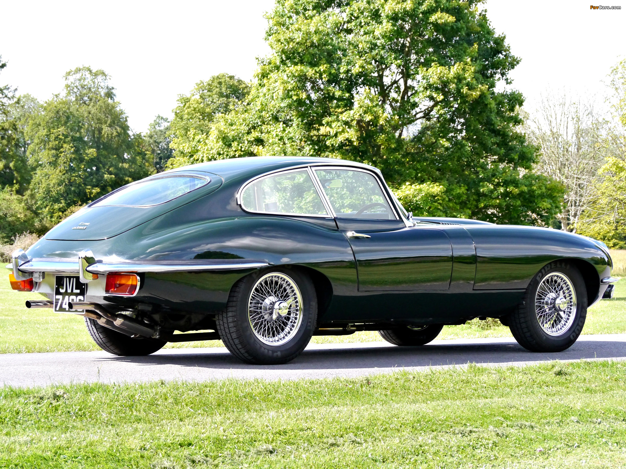 Pictures of Jaguar E-Type Fixed Head Coupe (Series II ...