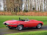 Jaguar E-Type Open Two Seater UK-spec (Series I) 1961–67 wallpapers