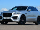 Jaguar F-Pace 20d AWD R-Sport UK-spec 2016 images