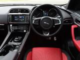 Jaguar F-Pace 20d AWD R-Sport UK-spec 2016 wallpapers