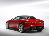 Jaguar F-Type V8 S Convertible 2013 photos