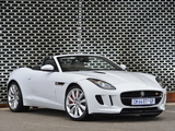 Jaguar F-Type S ZA-spec 2013 photos