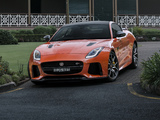 Jaguar F-Type SVR Coupé AU-spec 2016 pictures