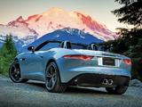 Photos of Jaguar F-Type S US-spec 2013