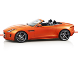 Pictures of Jaguar F-Type S Convertible North America 2013