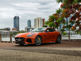 Jaguar F-Type SVR Coupé AU-spec 2016 wallpapers
