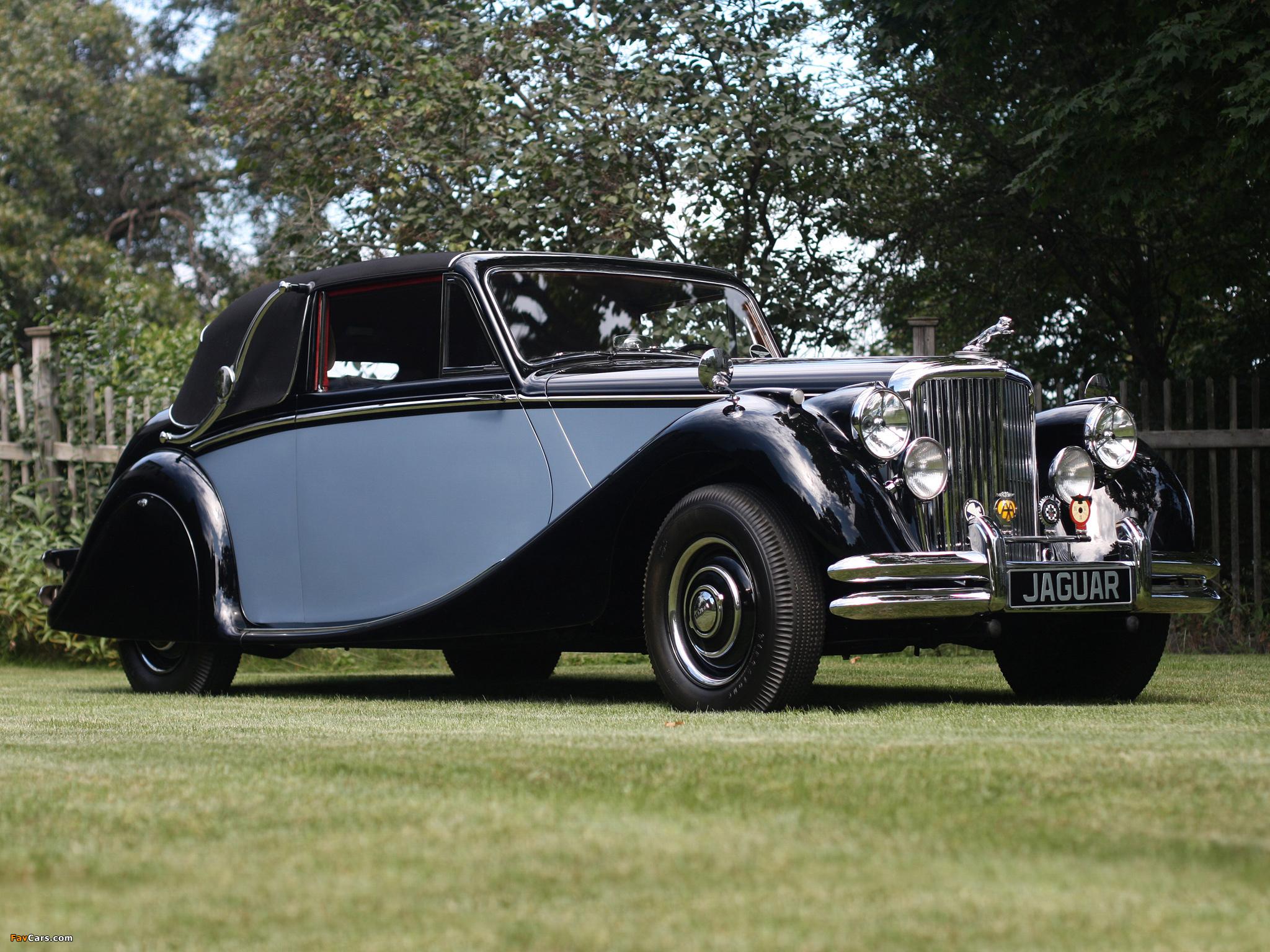 Jaguar Mark V Drophead Coupe 1948-51 photos (2048x1536)