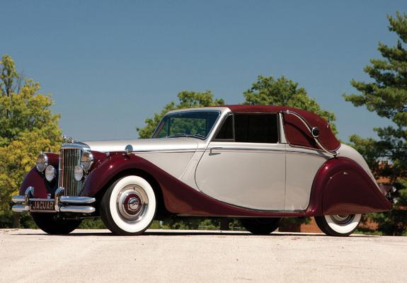 Jaguar Mark V Drophead Coupe 1948-51 wallpapers