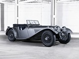 SS 100 2 ½ Litre Roadster 1936–40 wallpapers