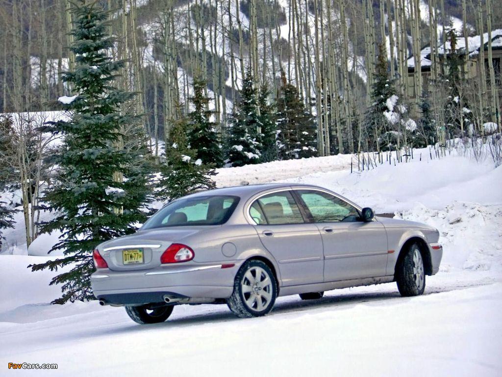Jaguar X-Type US-spec 2002–07 pictures (1024 x 768)