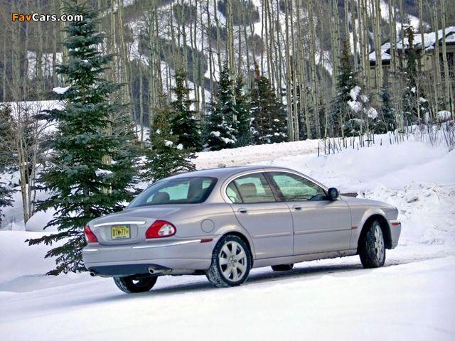 Jaguar X-Type US-spec 2002–07 pictures (640 x 480)