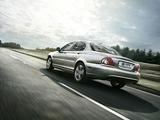 Jaguar X-Type UK-spec 2007–09 wallpapers