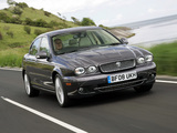 Jaguar X-Type UK-spec 2007–09 wallpapers