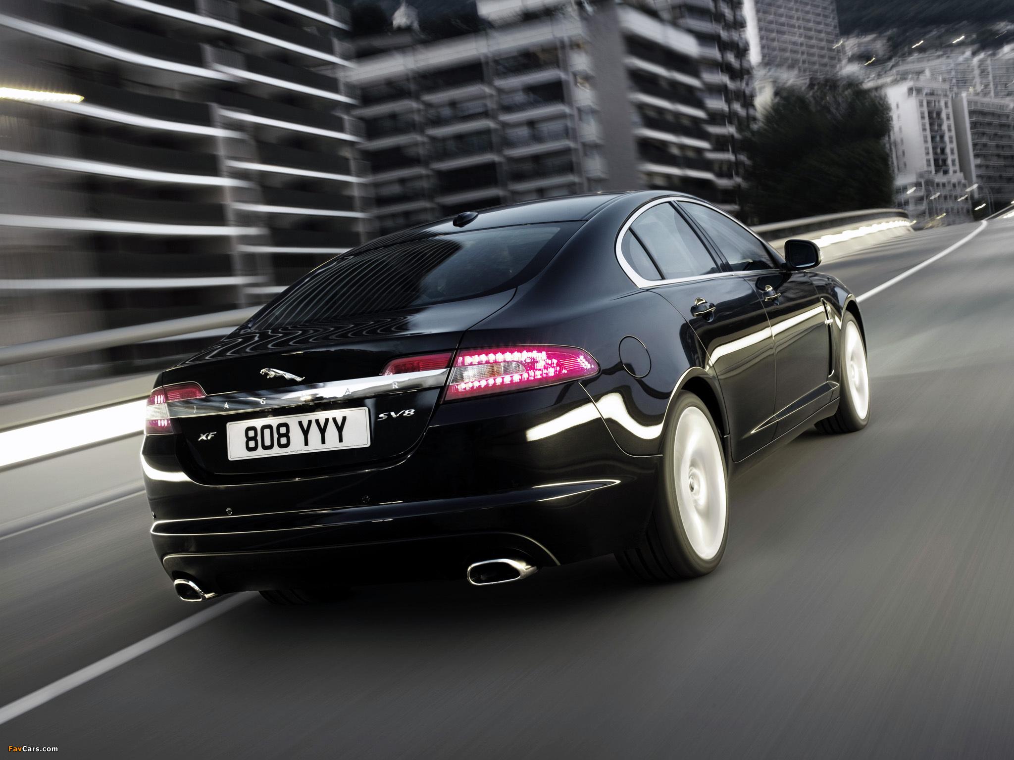 Jaguar XF 2008–11 images (2048 x 1536)