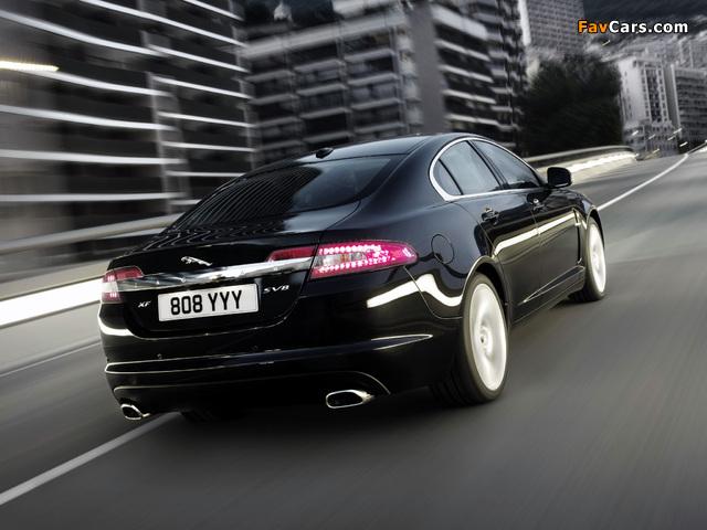 Jaguar XF 2008–11 images (640 x 480)