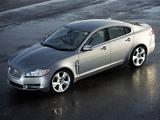 Jaguar XF UK-spec 2008–11 images