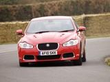 Jaguar XFR UK-spec 2009–11 photos