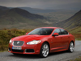 Jaguar XFR UK-spec 2009–11 photos