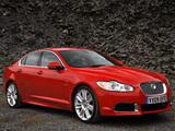 Jaguar XFR UK-spec 2009–11 pictures
