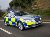 Jaguar XF Diesel S Police 2009–11 wallpapers
