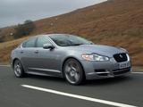 Jaguar XF Diesel S Option Pack UK-spec 2010–11 images