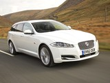 Jaguar XF Sportbrake UK-spec 2012 images