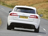Jaguar XF Sportbrake UK-spec 2012 photos