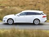 Jaguar XF Sportbrake UK-spec 2012 wallpapers