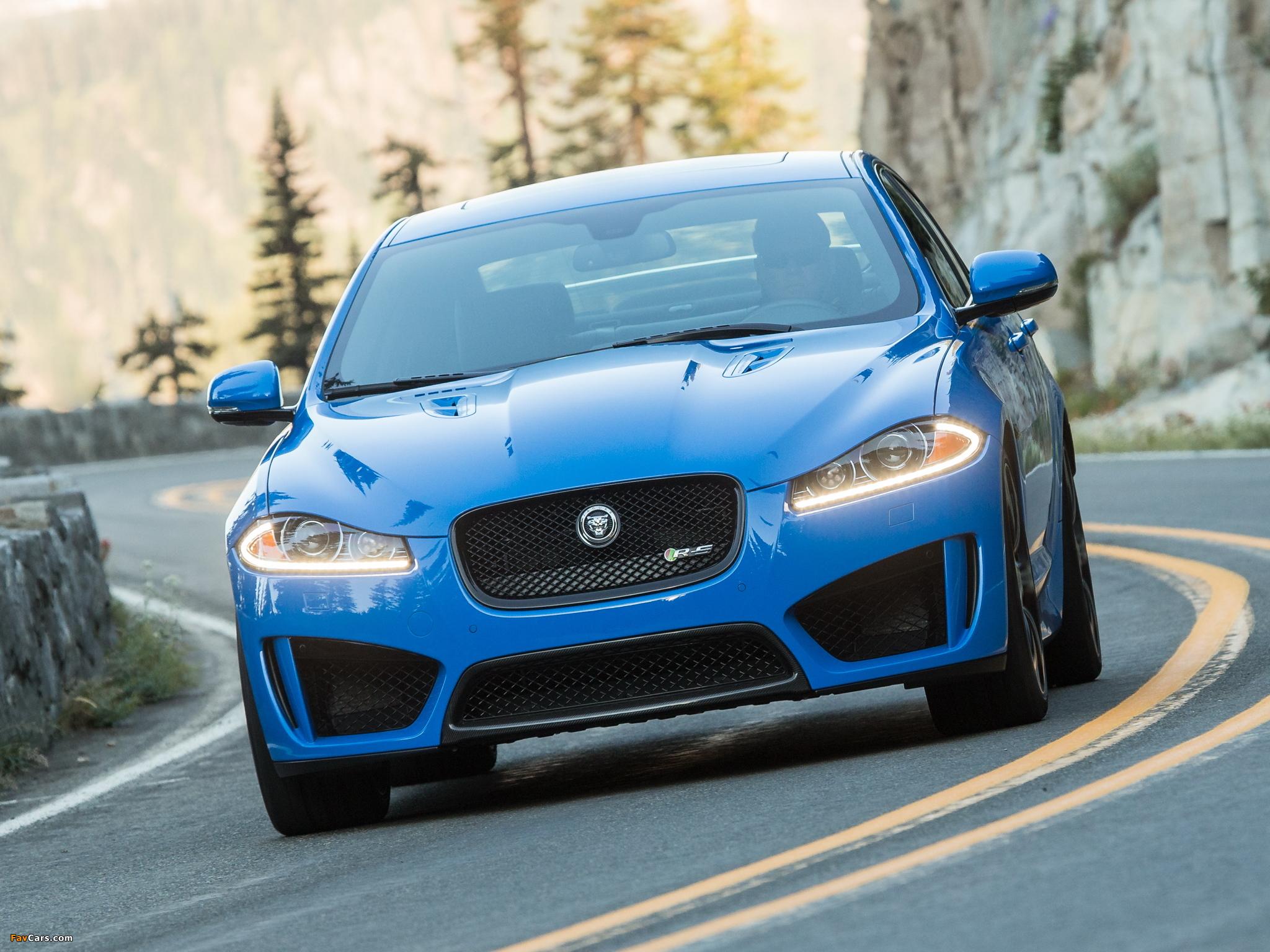 Jaguar XFR-S US-spec 2013 photos (2048x1536)