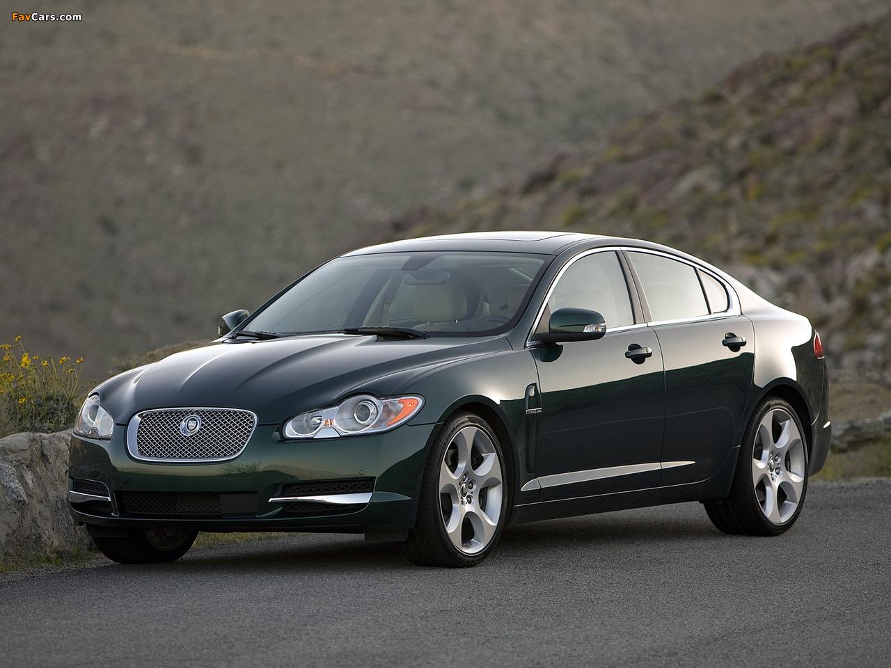 Photos of Jaguar XF US-spec 2008 (1280x960)