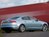 Pictures of Jaguar XF 2.2 Diesel UK-spec 2011