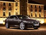 Pictures of Jaguar XF Sportbrake Diesel S UK-spec 2012