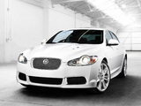 Jaguar XFR 2009–11 wallpapers