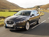 Jaguar XF Sportbrake Diesel S UK-spec 2012 wallpapers