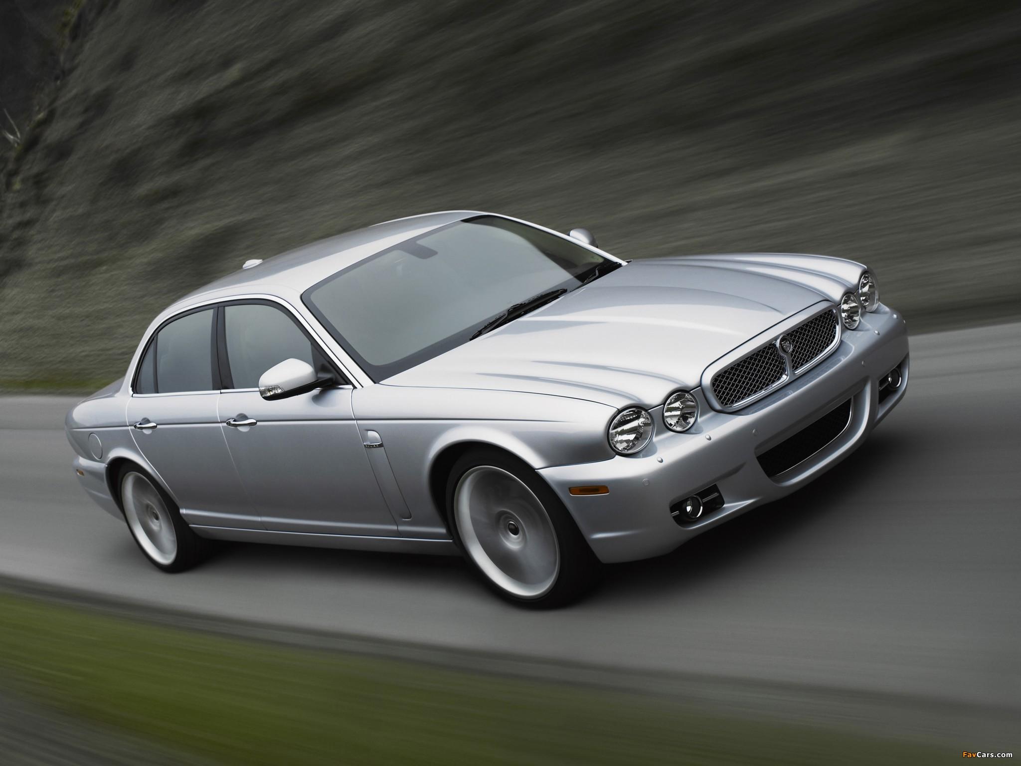 Jaguar XJ (X358) 2007-09 images (2048x1536)
